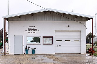 Ackerly, Texas - Ackerly City Hall