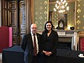 Acting Under Secretary of State Michelle Giuda with Minister of State UK Minister of State Alistair Burt.jpg
