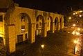 Acueducto de los Pilares en Oviedo, vista nocturna 9.jpg