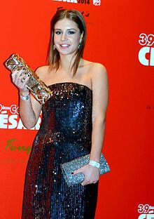 A photograph of Adèle Exarchopoulos attending the 39th César Awards