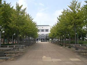 Adachi sogo sports center entrance 2014-2.jpg