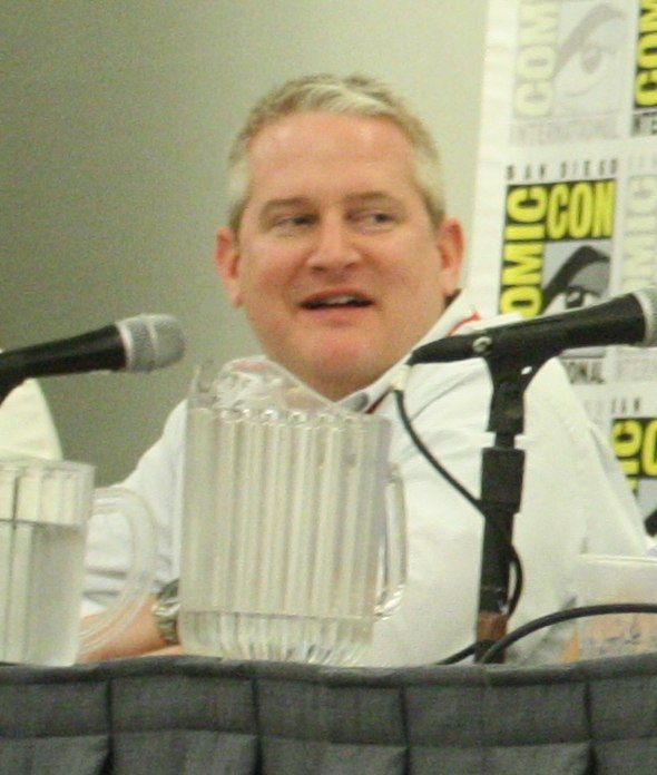 Adam Reed at San Diego ComicCon
