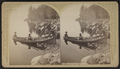 Adirondack Boat & Party, by Stoddard, Seneca Ray, 1844-1917 , 1844-1917.png