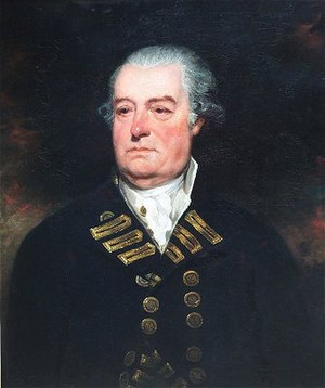 Battle of Cape Henry - Admiral Mariot Arbuthnot