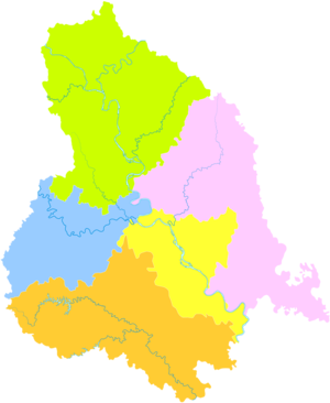 Suining - Image: Administrative Division Suining