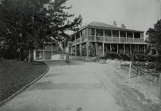 Admiralty House, Bermuda - Admiralty House at Clarence Hill (formerly St. John's Hill).