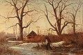 Adolphe Appian - Winter Landscape with Brushwood Gatherer.jpg