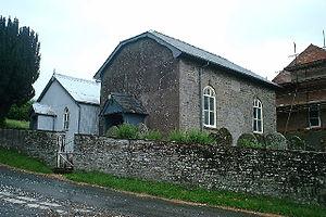 Painscastle - Adullam Baptist Chapel, Painscastle.