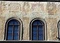 Affreschi della facciata di palazzo dell'antella, 1619, primo piano 03 temperanza, religione (del rosselli), giustizia (di gdsg).JPG