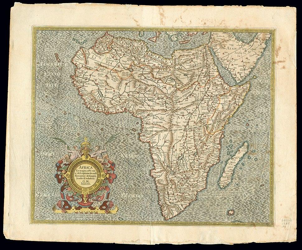 Africa 1595, Gerardus Mercator (3797082-recto)