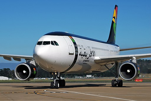 Afriqiyah Airways Airbus A300B4-600 CBR Gilbert