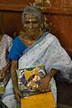 Aged Woman with New Clothing - Baganda - Hooghly 2014-09-28 8459.JPG