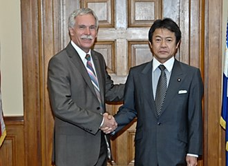 Shōichi Nakagawa - Discussing Market Access of US beef and the Doha Round. Agriculture Secretary Ed Schafer and Shoichi Nakagawa, Parliamentary Member, Liberal Democratic Party, Japan discuss market access of US beef and the Doha Round, 2 May 2008