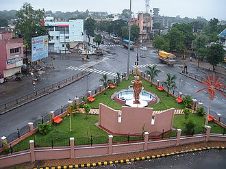 Aurangabad, Maharashtra - Ahilyabai Holkar Chauk, Station Road, Aurangabad