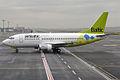 Air Baltic, YL-BBN, Boeing 737-522 (16269920219).jpg