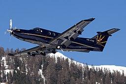 Air Engiadina Pilatus PC-12 Olivati-1