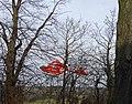 Air ambulance landing Trent Park, London N14 - geograph.org.uk - 1166707.jpg