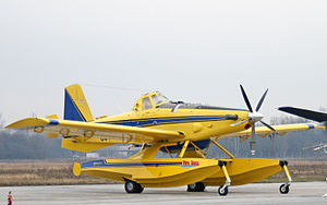 Air Tractor - Image: Air tractor 111209 1