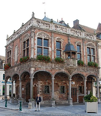 Aire-sur-la-Lys - The former bailiff's office