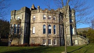 Airthrey Castle - Airthrey Castle from the south-west