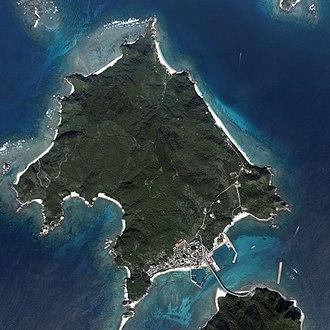 Aka Island - Aerial view of Aka Island