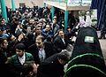Akbar Hashemi Rafsanjnai farewell ceremony in Jamaran 05.jpg