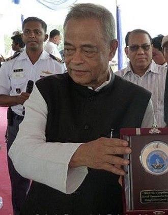 Muhiuddin Khan Alamgir - Alamgir in May 2013