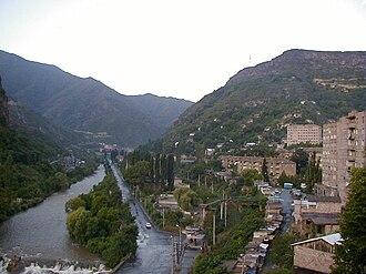 Alaverdi, Armenia - Downtown Alaverdi