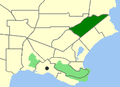 Albany-Collingwood Heights map.png