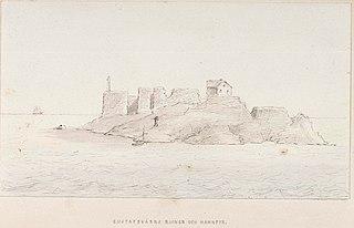 Gustafsvärns ruiner och hamnfyr