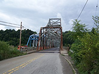 Albert Gallatin Memorial Bridge - Image: Albert Gallatin Memorial Bridge (1930) East End