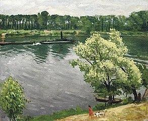 Bord de Seine à La Frette