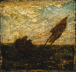Albert Pinkham Ryder: The Waste of Waters is Their Field