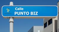 Alcalá de Henares (RPS 08-04-2017) Calle Punto Biz, indicador.png