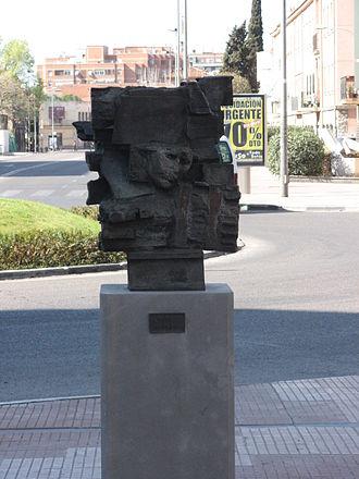 Pablo Serrano - Work at the Museum of Outdoor Sculpture of Alcala de Henares.