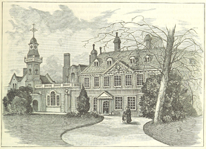 Aldenham House - Aldenham House in 1882