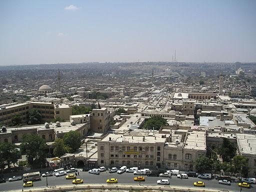 AleppoViewFromCitadel