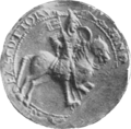 Alexander I, King of Scotland seal.png