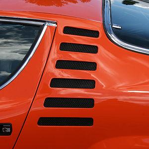 Alfa Romeo Montreal - Alfa Romeo Montreal C pillar