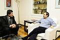 Alfonsín con el ex presidente del club Velez sarsfield, Raúl Gámez (6031423431).jpg