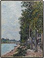 Alfred Sisley - Road Along the Seine at Saint-Mammes - 1985.R.69 - Dallas Museum of Art.jpg