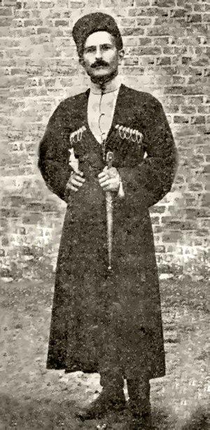 Alexander Svanidze - Svanidze in 1915