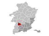 Location of Alken in Limburg