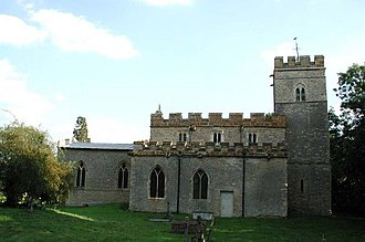 All Saints Church, Lathbury - All Saints Church, Lathbury