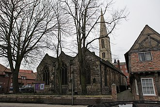 All Saints' Church, North Street, York - Image: All Saints North Street geograph.org.uk 1691691