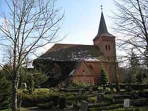 Alt Schwerin - Image: Alt Schwerin Kirche 2008 03 26