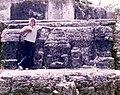 Altun Ha Belize July 1975 - IFrog Pose.jpg