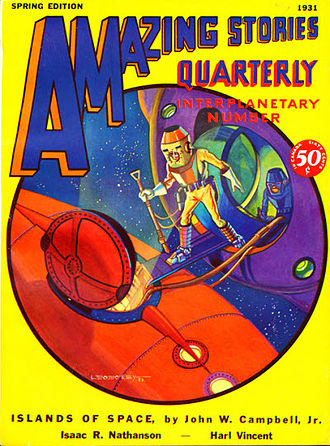 Islands of Space - Islands of Space was originally published in the Spring 1931 Amazing Stories Quarterly