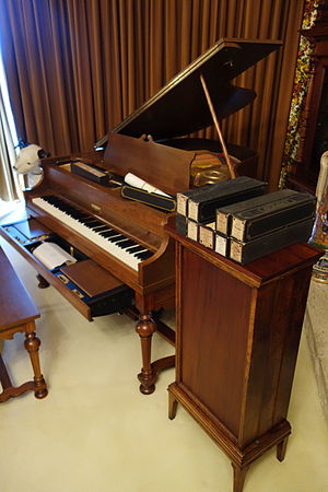 American Piano Company - Ampico reproducing piano in the Bayernhof Music Museum