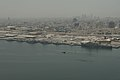An aerial view of U.S. Navy ships moored in Manama, Bahrain, May 12, 2013, in preparation for International Mine Countermeasures Exercise (IMCMEX) 2013 130512-N-OA702-027.jpg